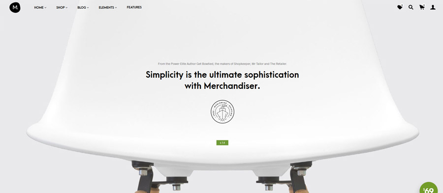 Merchandiser Woocommerce Theme